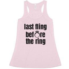 Last Fling Before Ring