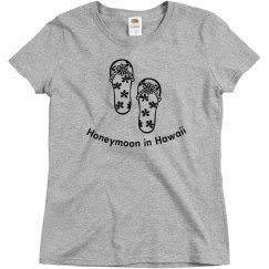 Honeymoon in Hawaii Tees