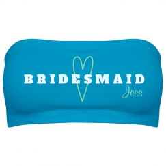 Mint Heart Bridesmaid