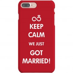 Keep Calm Just Married