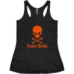 Halloween Wedding Team bride Tank