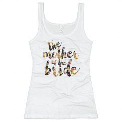 Floral Mother of the Bride Tank