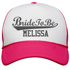 Bride to Be Hat