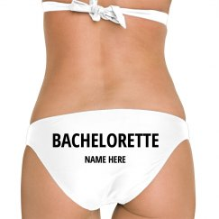 Custom Bachelorette Beach Bikini