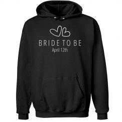 Heart Bride Sweatshirt