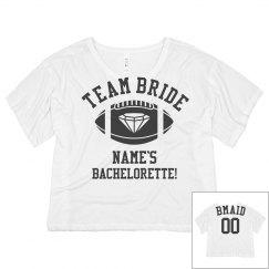 Team BMaid Football Crop