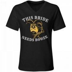 Mardi Gras Bride Booze