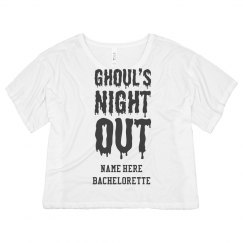 Ghoul's Night Out Halloween Bachelorette