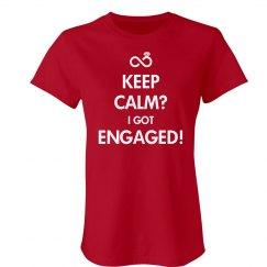 Keep Calm Engaged Tee