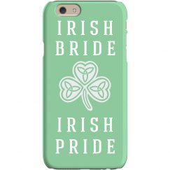 Irish Bride iPhone Case Gift