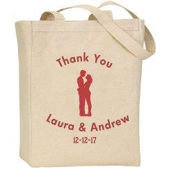 Wedding ThankYou Tote Bag