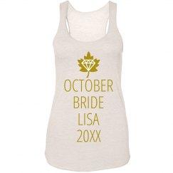 October Fall Bride