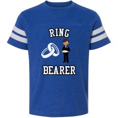 Ring Bearer Vintage Football T-Shirts.