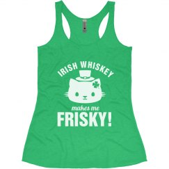 Frisky Whiskey Irish Bride Cat
