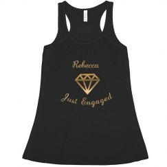 Just Engaged Tank Top