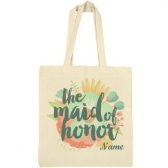 Maid Of Honor Floral Proposal Bag