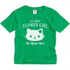 Custom Irish Flower Girl