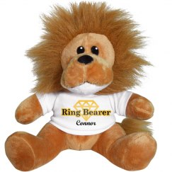 Custom Lion Ring Bearer