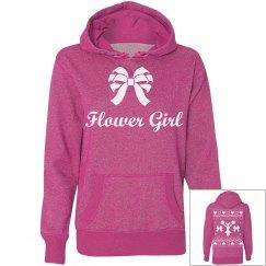 Flower Girl Xmas Hoodie