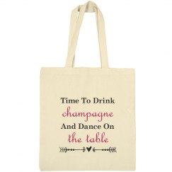 Time to Drink Tote