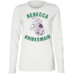 Mardi Gras Bridesmaid