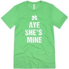 He's She's Mine Irish Matching