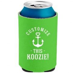 Custom Text Bachelorette Koozies