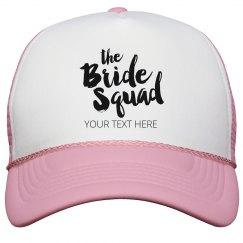Scrip Bride Squad Snap Back