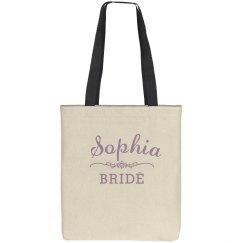 Purple Bride Scroll Logo