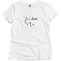 The Future Mrs. with Ring Tee