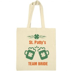 St Patty's Team Bride Tote