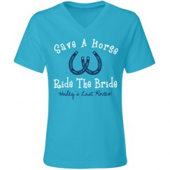 Last Rodeo Bride Ride