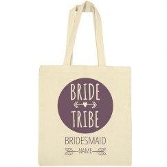 Custom Bride Tribe Bridesmaid Gift