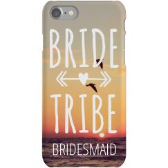 Bride Tribe Bridesmaid iPhone 7