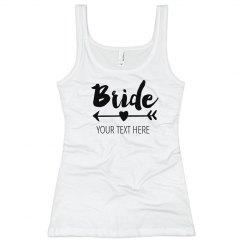 Matching Bride Heart Arrow