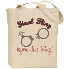Final Fling Tote Bag