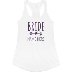 Bride To Be Arrow Heart