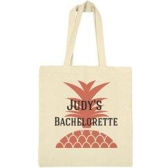 Pineapple Bachelorette Tote