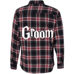 Groom Flannel Shirt