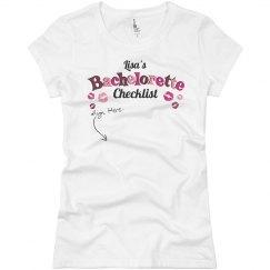 Bachelorette Check List