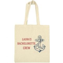 Bride's Bachelorette Crew Nautical