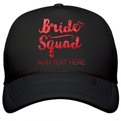 Shiny Metalic Bride Squad