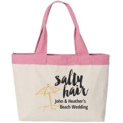 Beach Wedding Tote