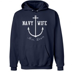 Mrs. Navy Wife Anchor