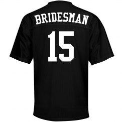 Bridesman Custom Jersey