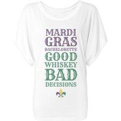 Funny Mardi Gras Bachelorette