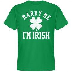 Marry Me I'm An Irish Groom