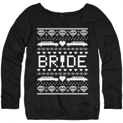 Bride's Christmas Sweater