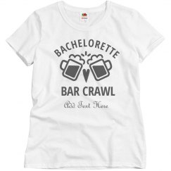 Bar Crawl Rhinestones