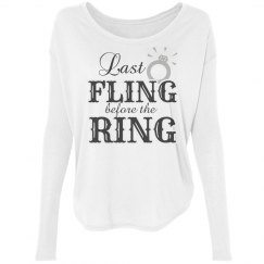 Last Fling Bridesmaid